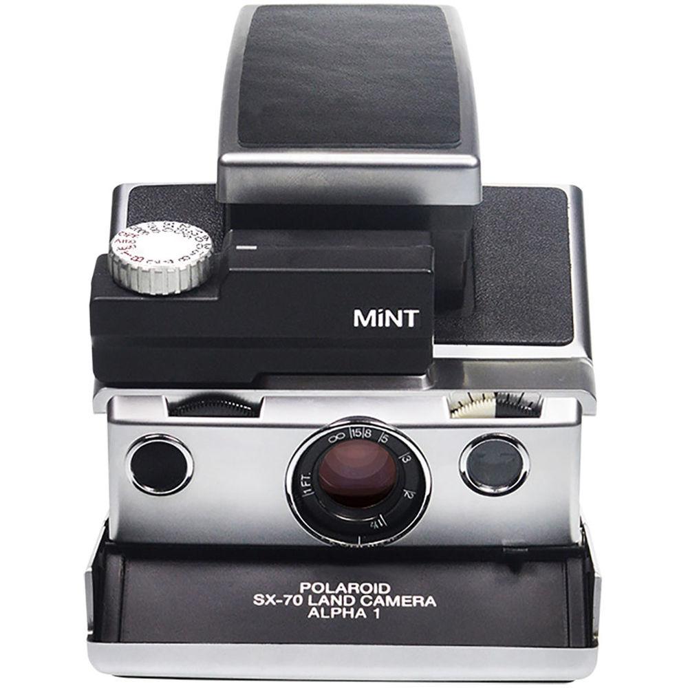 mint camera slr670 s instant film camera black slr670 s b h