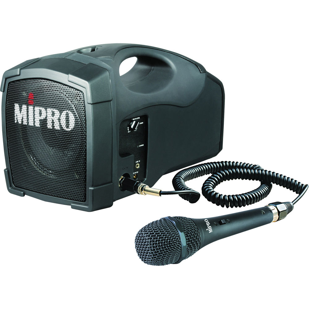 Mipro Ma 101c Portable Rechargeable Pa System Ma101c
