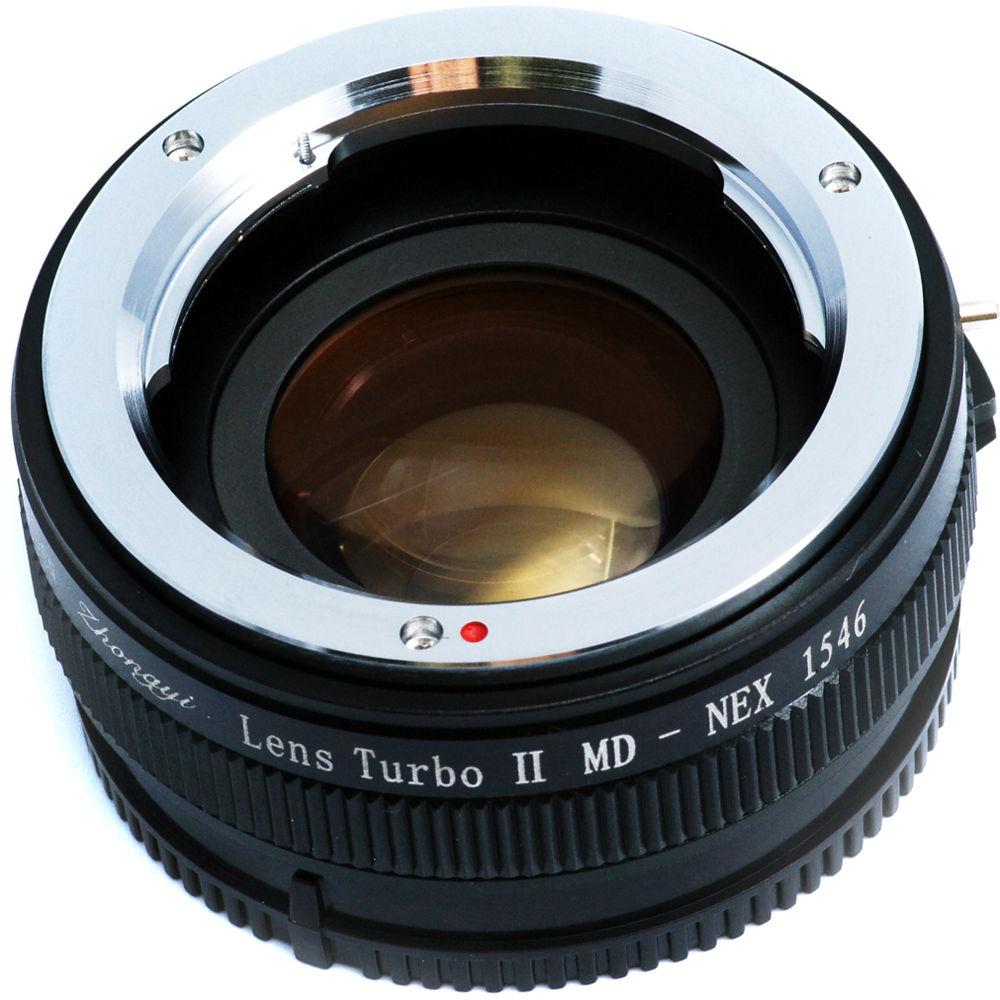 Mitakon Zhongyi Lens Turbo Adapter V2 MTKLTM2MD2SE B&H Photo