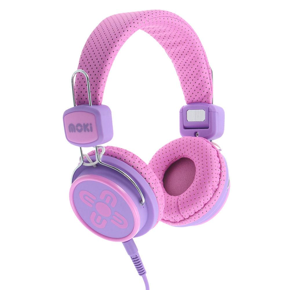 Kids purple earbuds - headband headphones kids