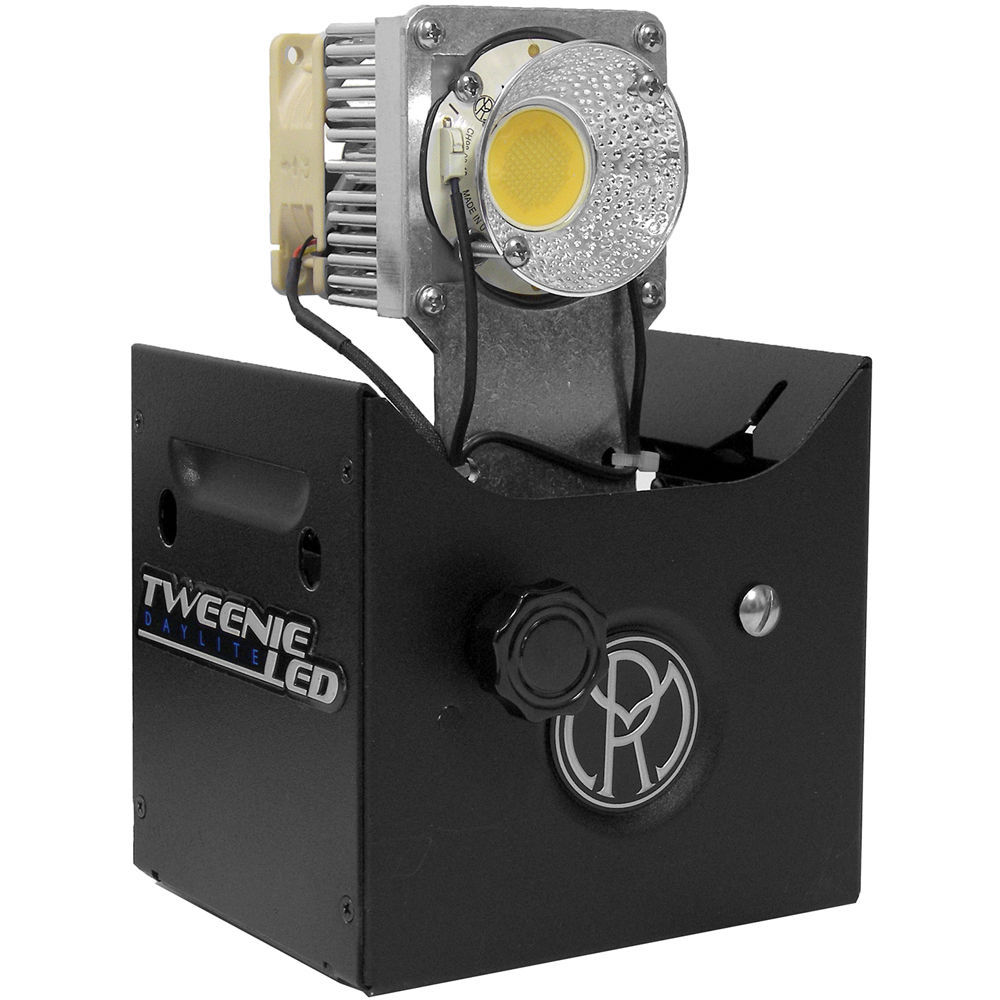 Mole Richardson Fresnel: Mole-Richardson 100W TweenieLED Fresnel Retro-Kit 880110 B&H