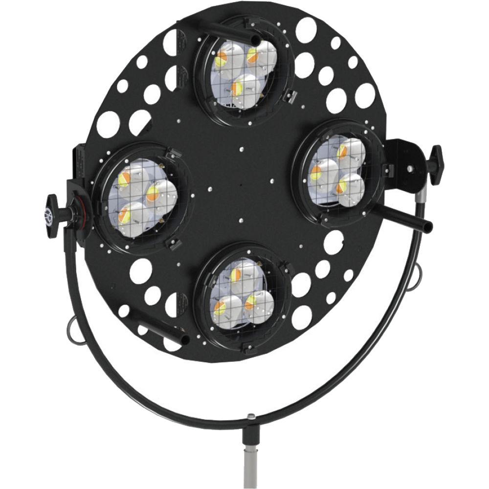 Mole Richardson Zip Light: Mole-Richardson 900W Vari-Skypan LED With Yoke 9261Y B&H Photo