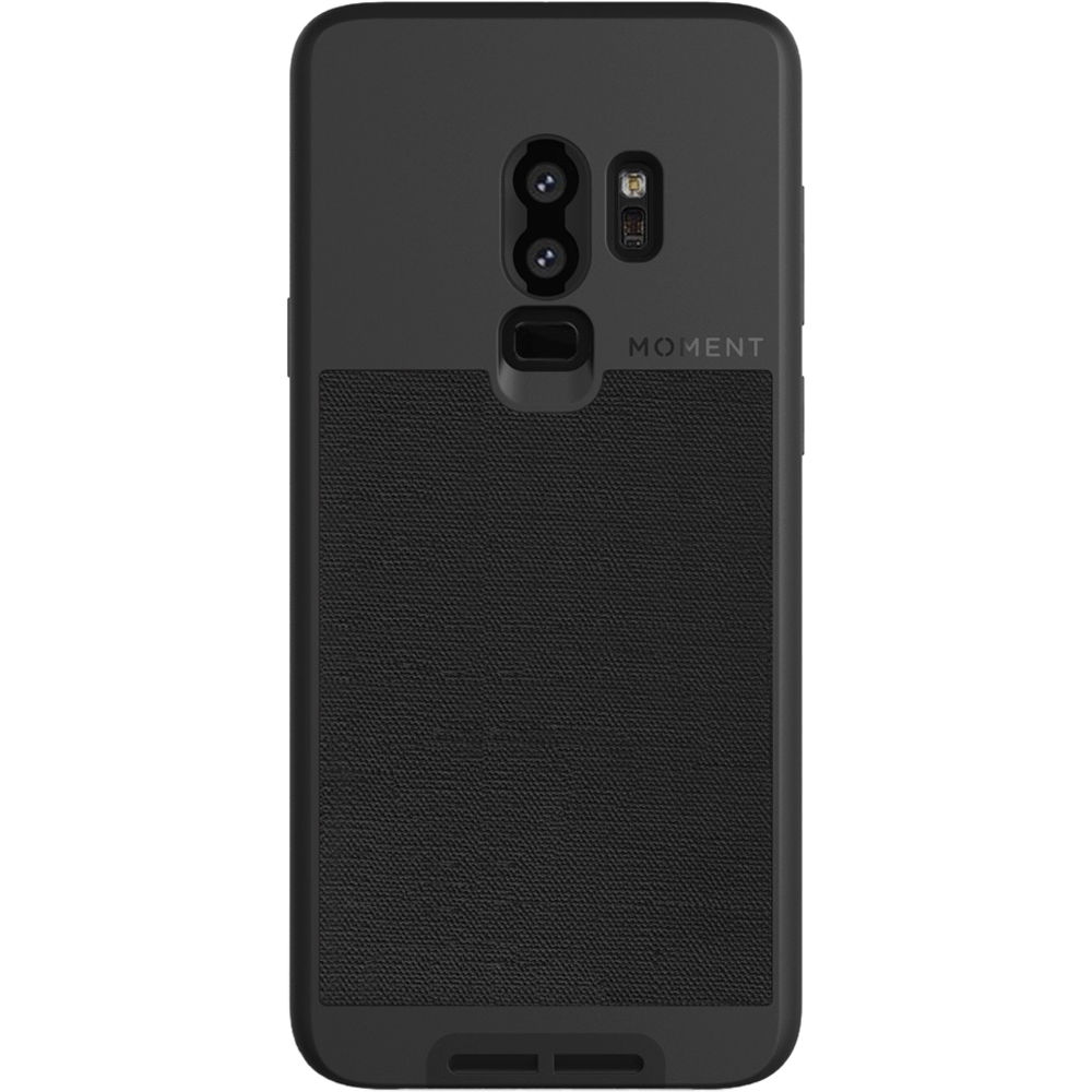 detailed look d98c3 73998 Photo Case for Samsung Galaxy S9+ (Black Canvas)