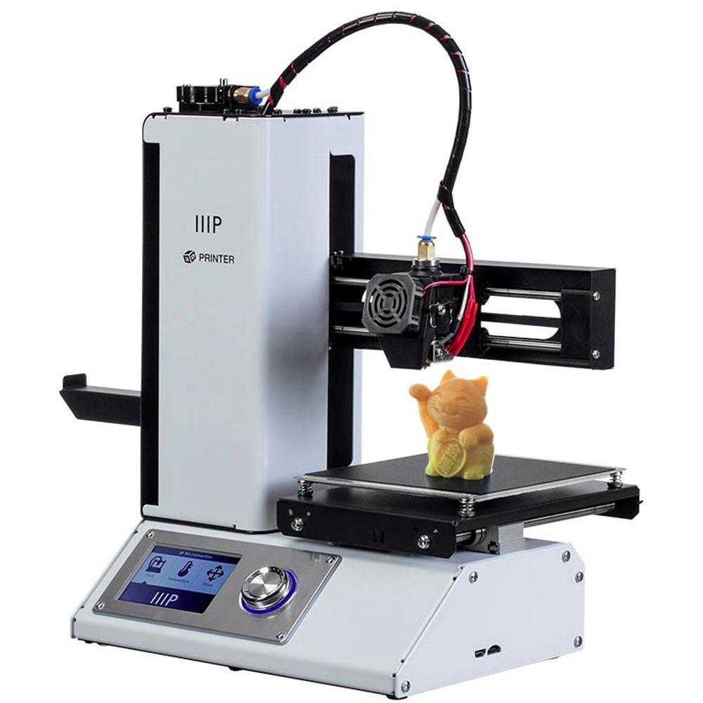 Monoprice Select Mini 3D Printer V2 (White) 15365 B&H Photo