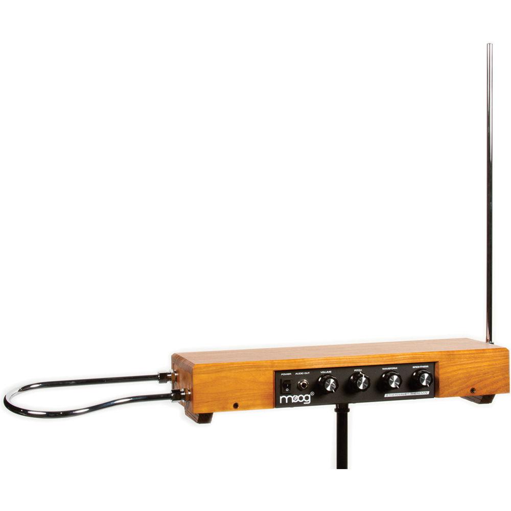 moog etherwave theremin standard ash 110 v ew std 019 b h. Black Bedroom Furniture Sets. Home Design Ideas
