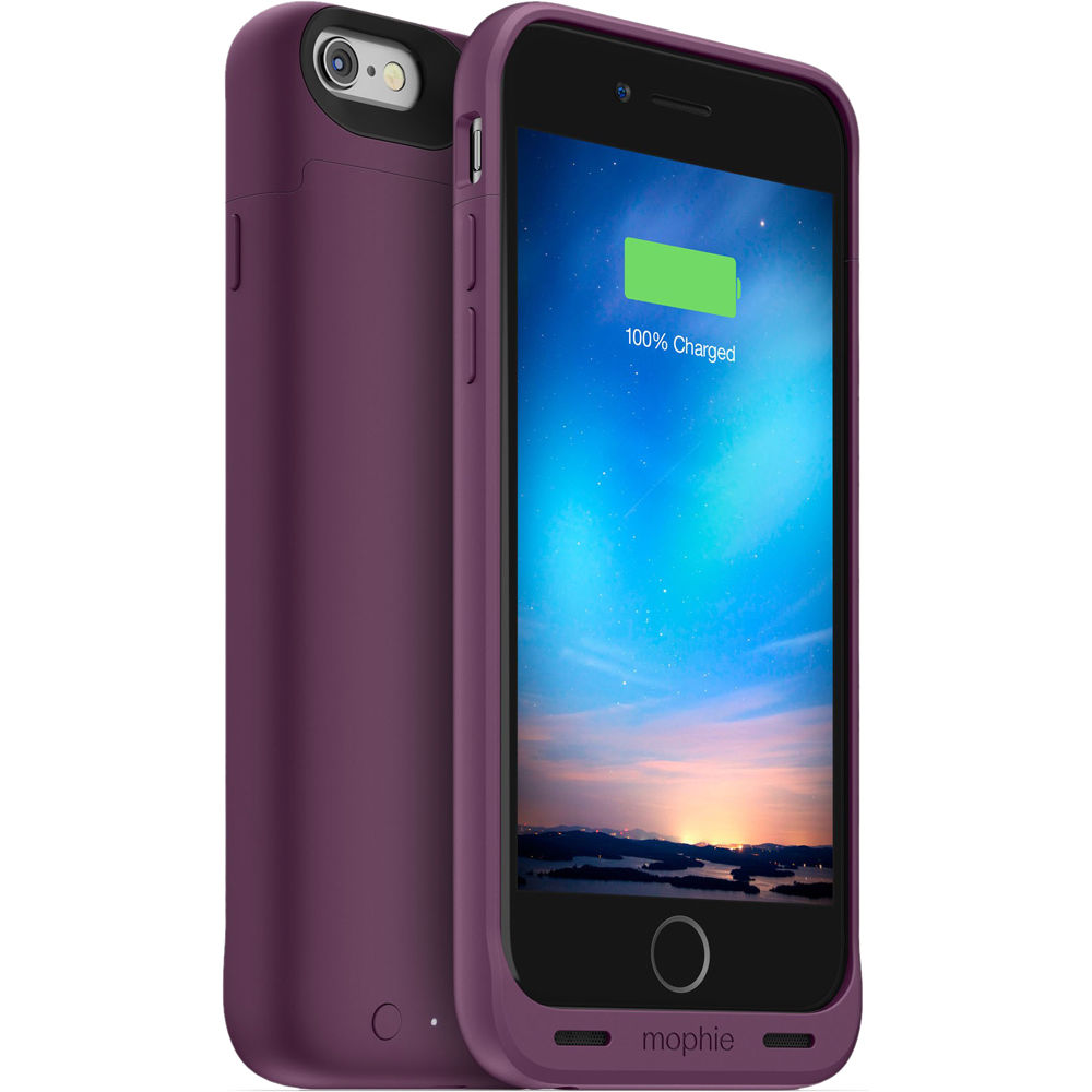 mophie juice pack reserve battery case for iphone 6 6s 3368 b h. Black Bedroom Furniture Sets. Home Design Ideas