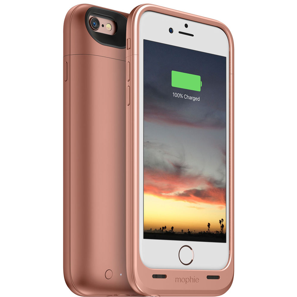 mophie juice pack air for iPhone 6/6s (Rose Gold) 3382 B&H ...