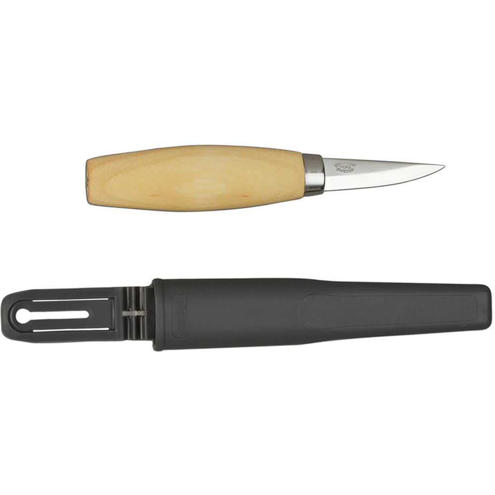 Product Wood Carving Knife: Morakniv Wood Carving 120 Knife M-106-1600-LAMINATD STEEL B&H
