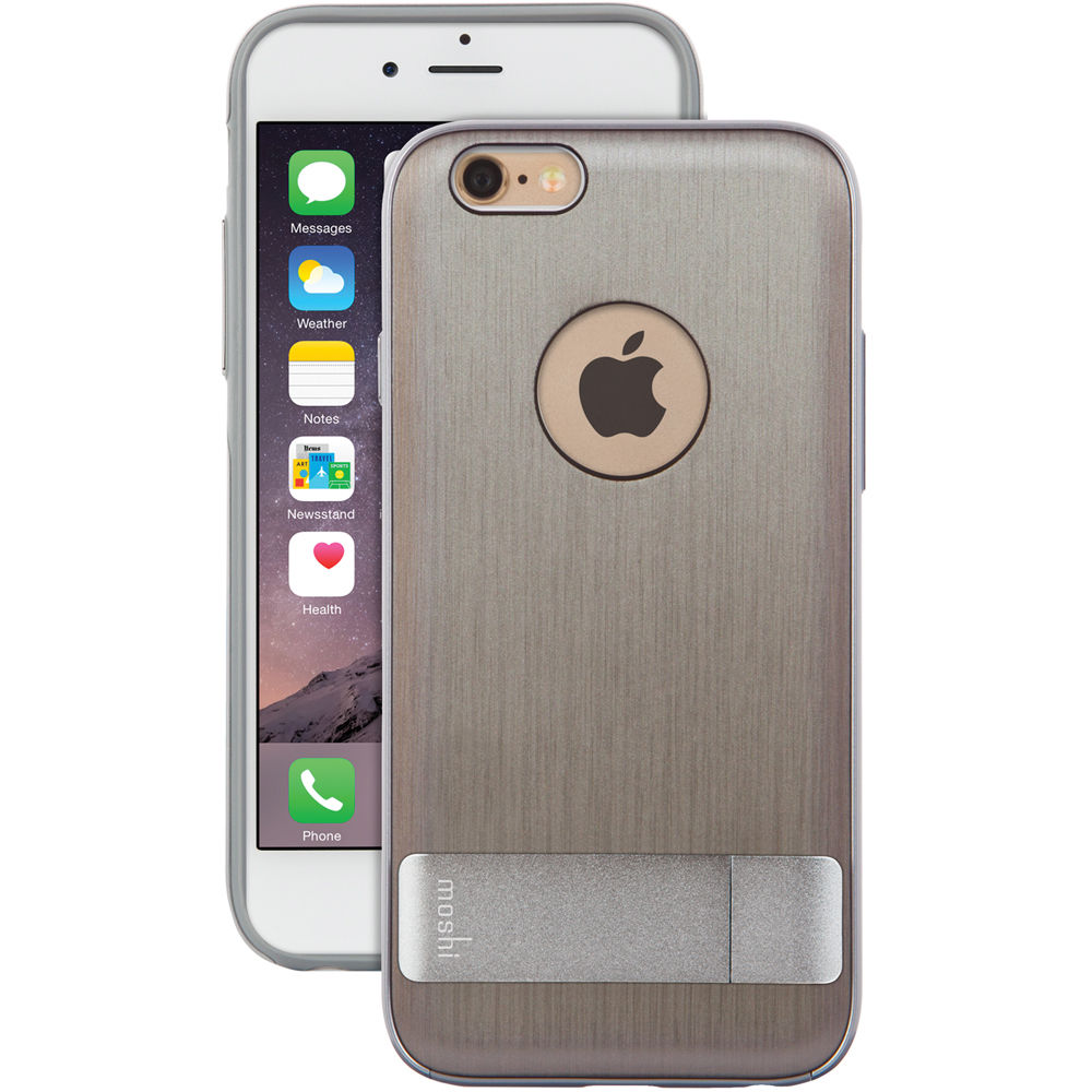 moshi iphone case moshi kameleon for iphone 6 6s brushed titanium 7367