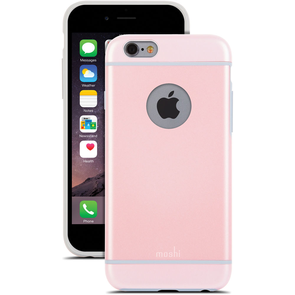 moshi iphone case moshi iglaze for iphone 6 6s carnation pink 99mo079301 7367
