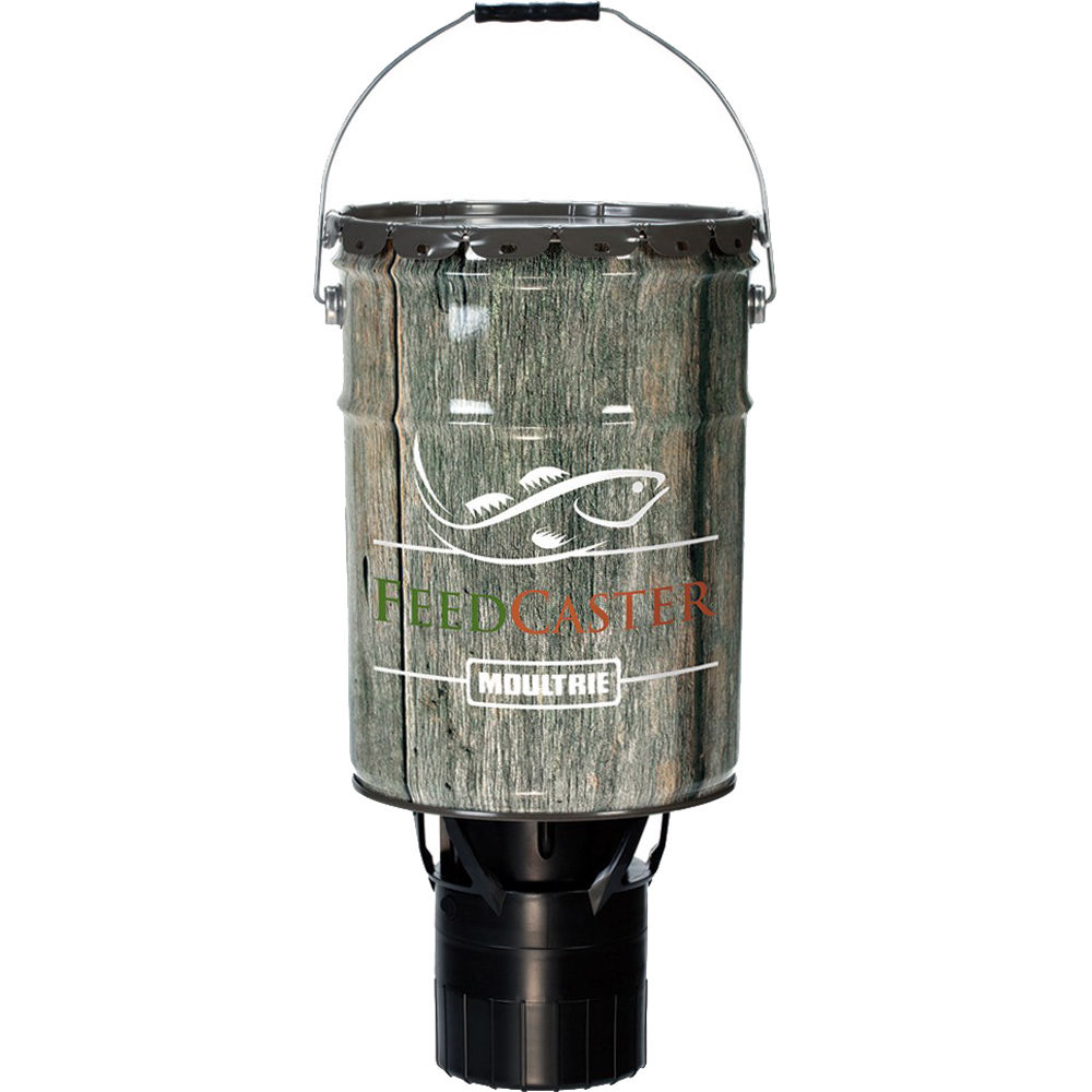 Moultrie directional hanging 6 5 gallon feedcaster for Moultrie fish feeder