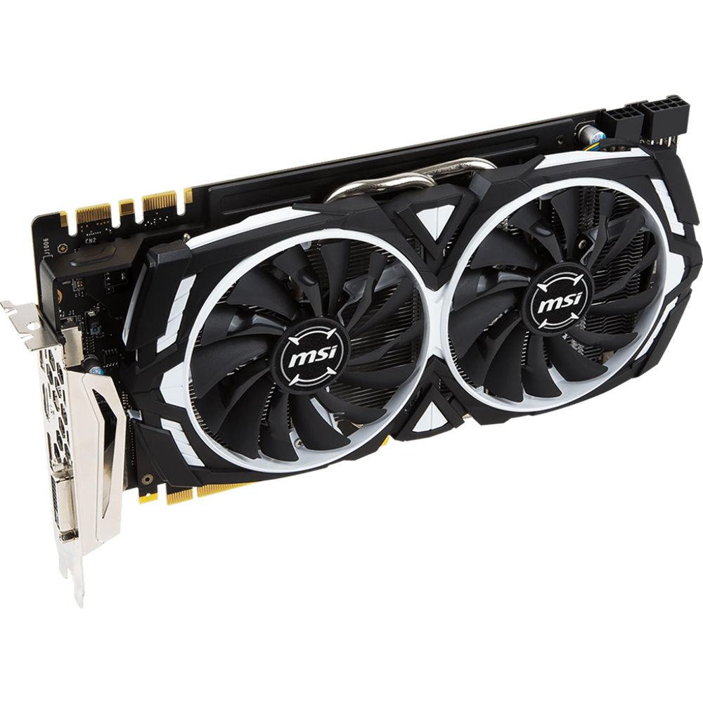 MSI GeForce GTX 1070 Ti ARMOR 8G Graphics GTX 1070 TI ARMOR 8G