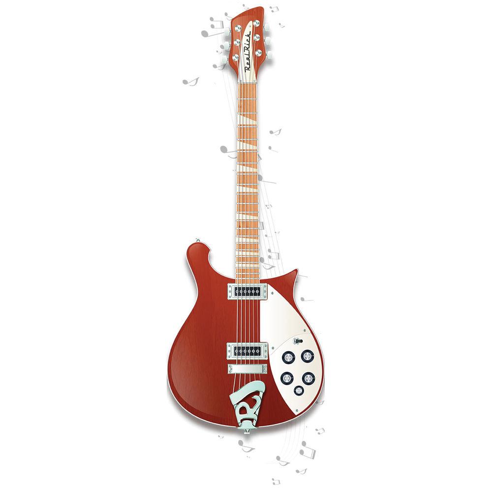 musiclab realrick rickenbacker guitar virtual 12 41397 b h. Black Bedroom Furniture Sets. Home Design Ideas