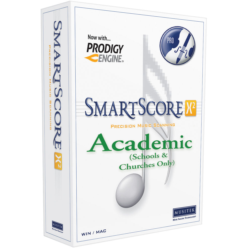 SmartScore X2 Academic Edition License (10-Pack)