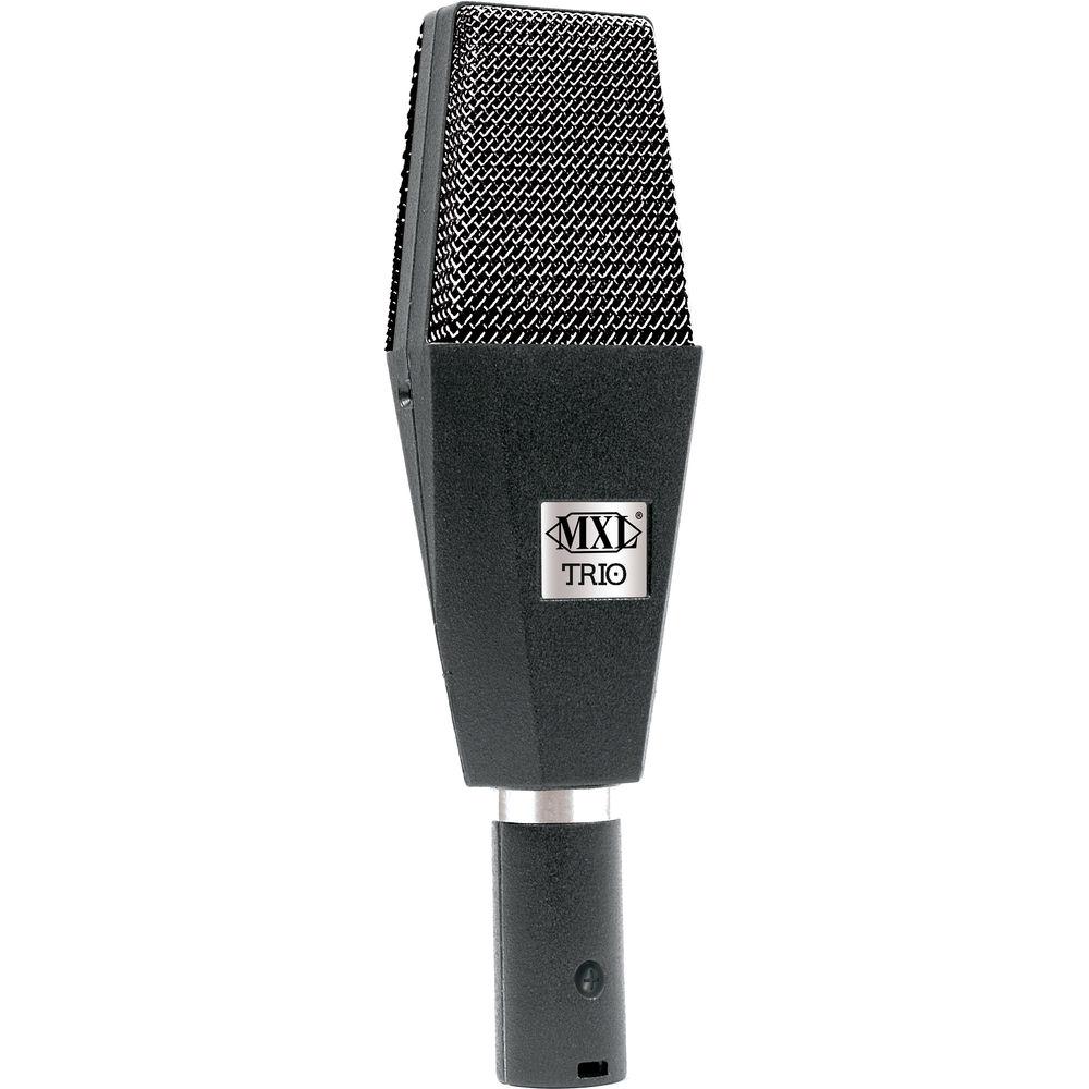 mxl trio usb condenser microphone trio b h photo video. Black Bedroom Furniture Sets. Home Design Ideas