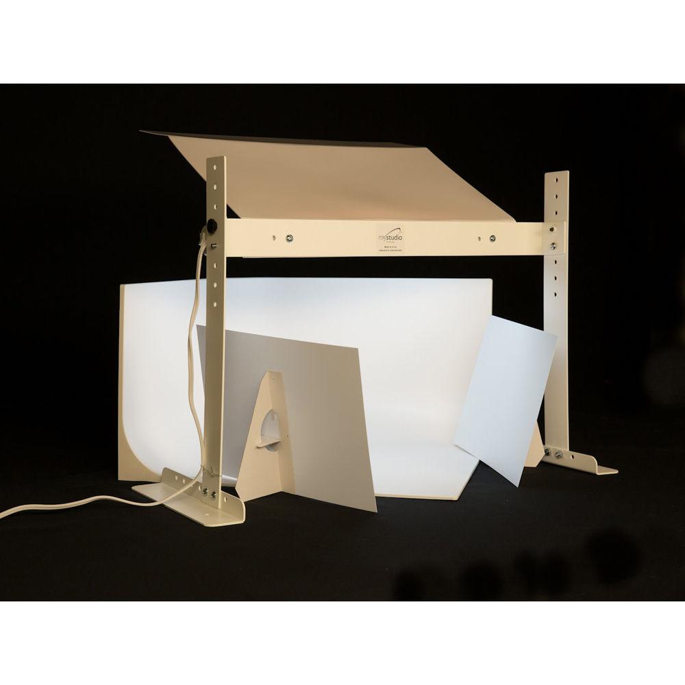 mystudio ms20 tabletop photo studio kit with led lighting