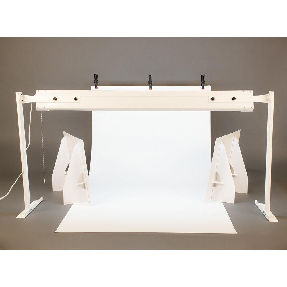 mystudio pro tabletop lightbox photo studio kit w 5000k vs36led