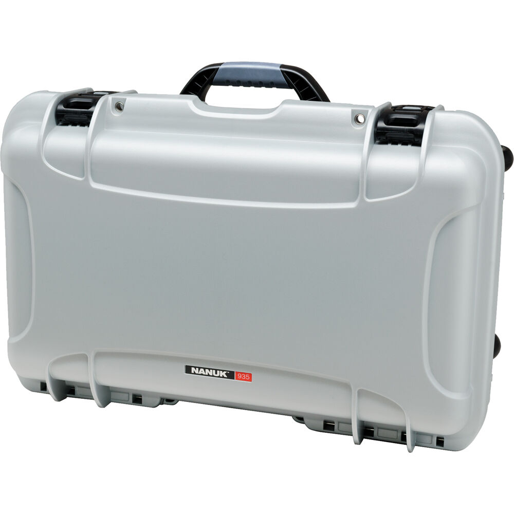 Nanuk Protective 935 Case With Dividers Silver 935 2005 B Amp H