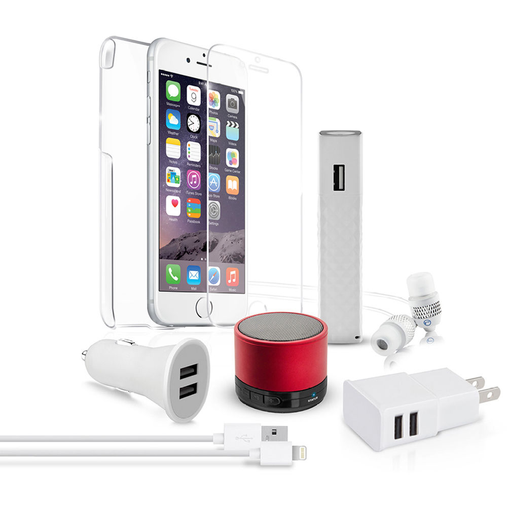 Naztech Red Carpet Premium 8 Essentials Kit For Iphone 6 6s