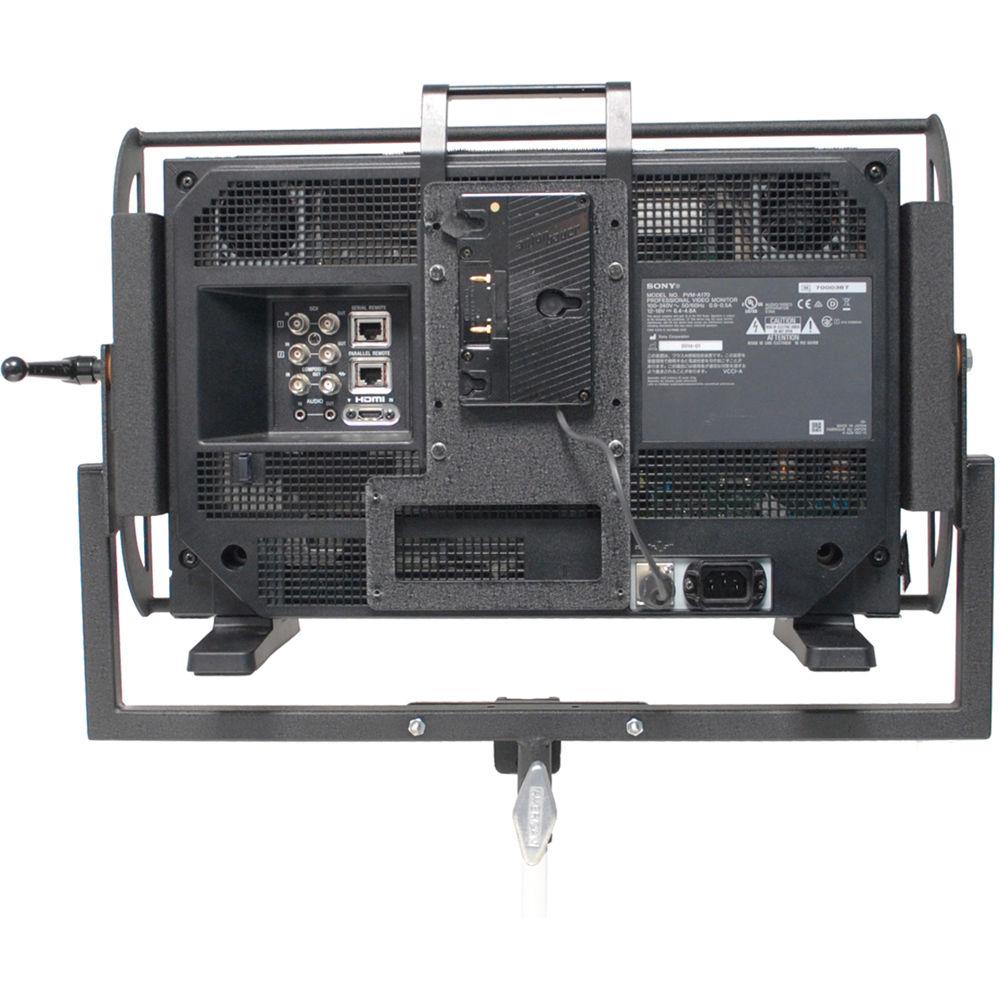 Ab Power Monitor 1000 : Nebtek anton bauer battery plate for sony pvm a ab xlr