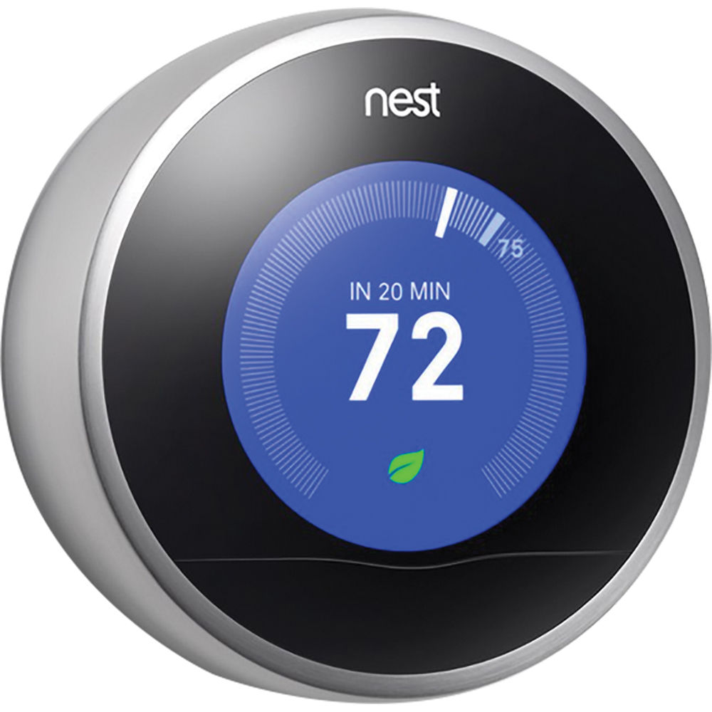 Nest learning thermostat 2nd generation t200577 b h photo - Nest learning thermostat ...