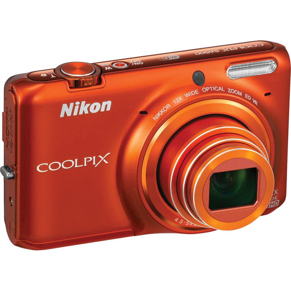 Nikon Coolpix S6500 Digital Camera XP