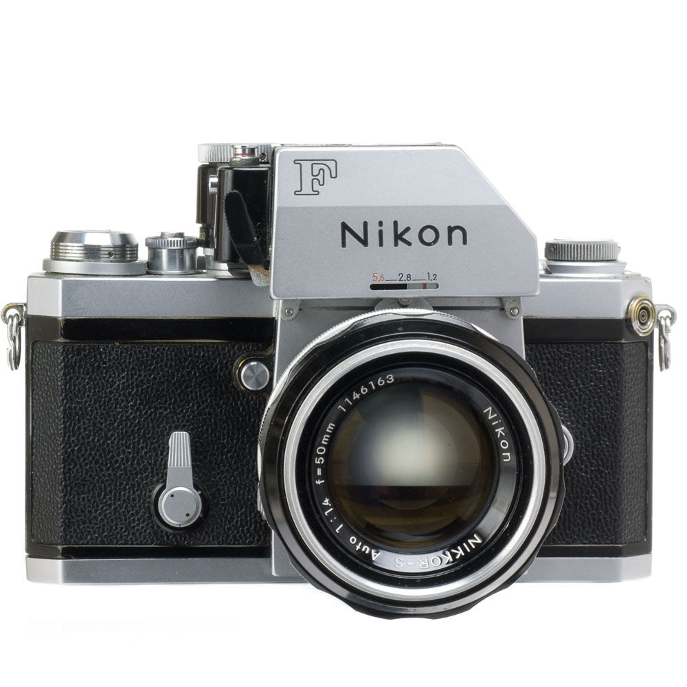 Amazon.com : Nikon F2 Photomic 35mm Camera : Point And Shoot Film ...