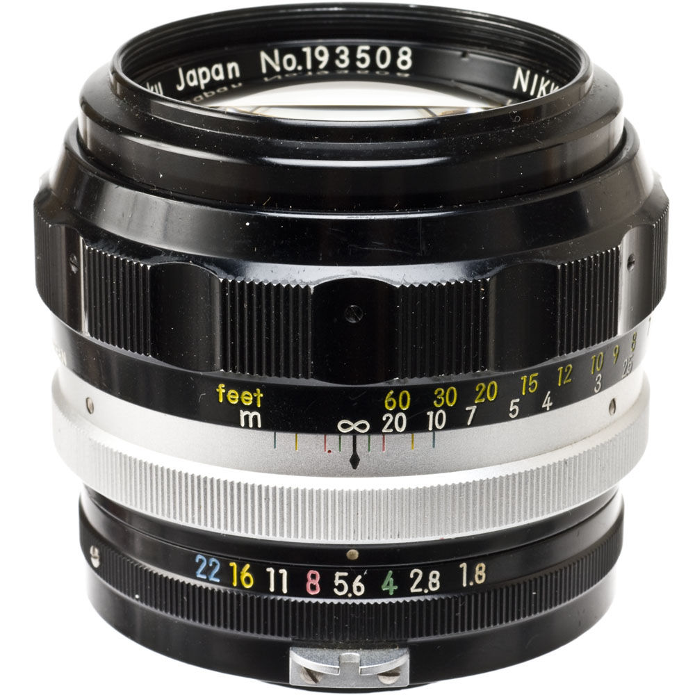 used nikon telephoto 85mm f 1 8 nikkor h manual focus lens b h rh bhphotovideo com Nikon 85Mm 1.8G Sample Used Nikon 85Mm 1.8