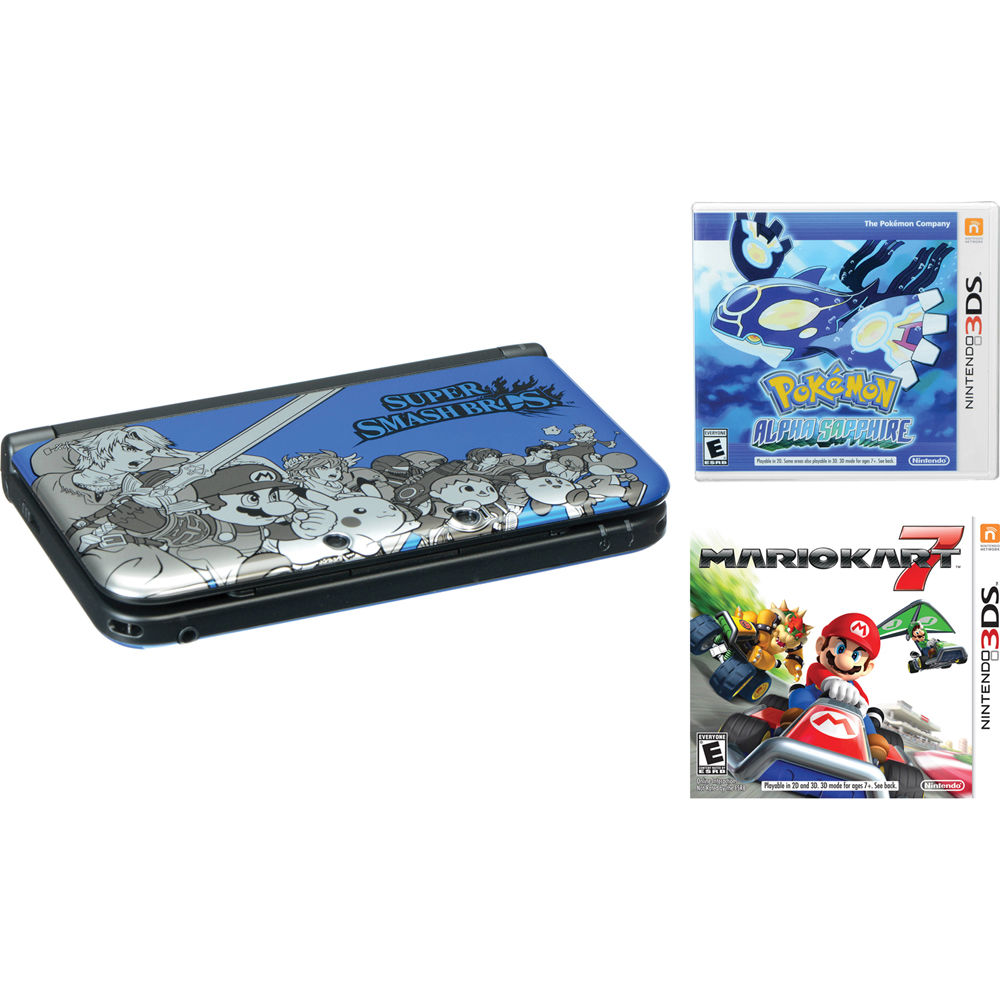 Nintendo 3DS XL Handheld Gaming System, Super Smash Bros. B&H