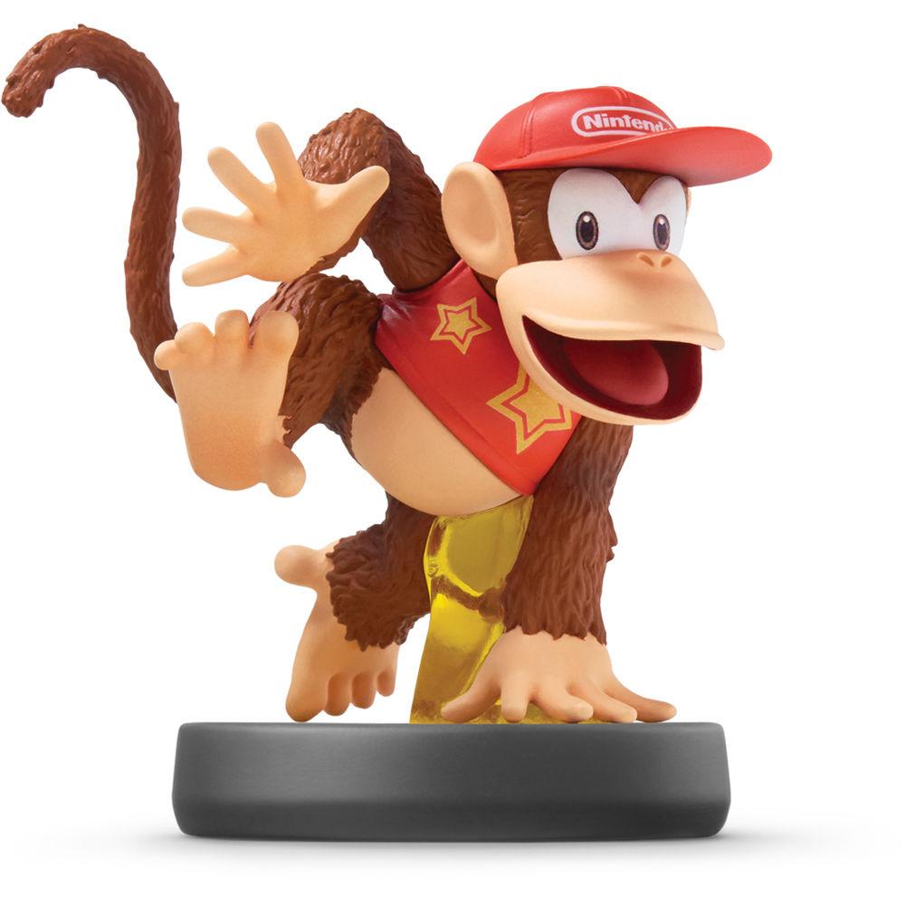 Nintendo Diddy Kong amiibo Figure (Wii U) NVLCAAAP B&H Photo