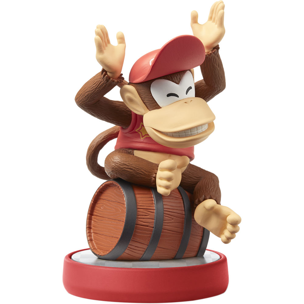 Nintendo Diddy Kong amiibo Figure (Super Mario Series ...