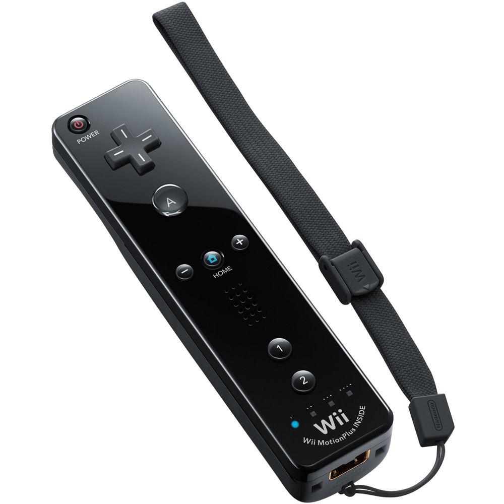 Nintendo Remote Plus Controller (Wii & Wii U, Black