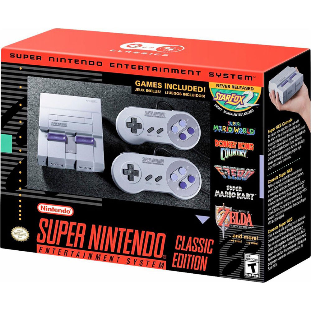 nintendo super nes classic edition b h photo video. Black Bedroom Furniture Sets. Home Design Ideas
