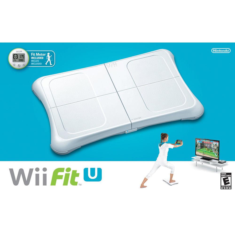 Nintendo Wii Fit U Bundle with Balance Board & Fit WUPRASTE