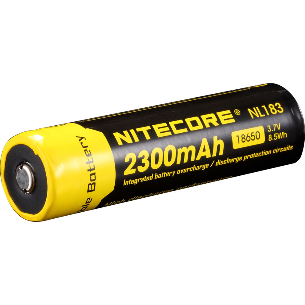 18650 Batteries Bh Photo Video 2400mah Rechargeable Liion W Protection Circuit Nitecore Li Ion Battery 37v 2300mah