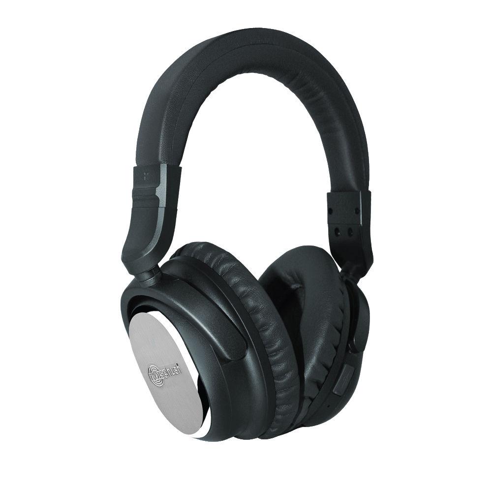 noisehush i9 bluetooth active noise canceling headphones 13029. Black Bedroom Furniture Sets. Home Design Ideas