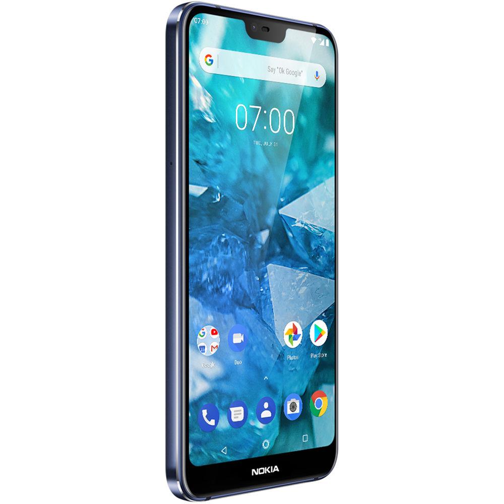 Nokia 71 Dual Sim 64gb Smartphone Unlocked Blue 11ctll11a03 Mouse Optick Voltre