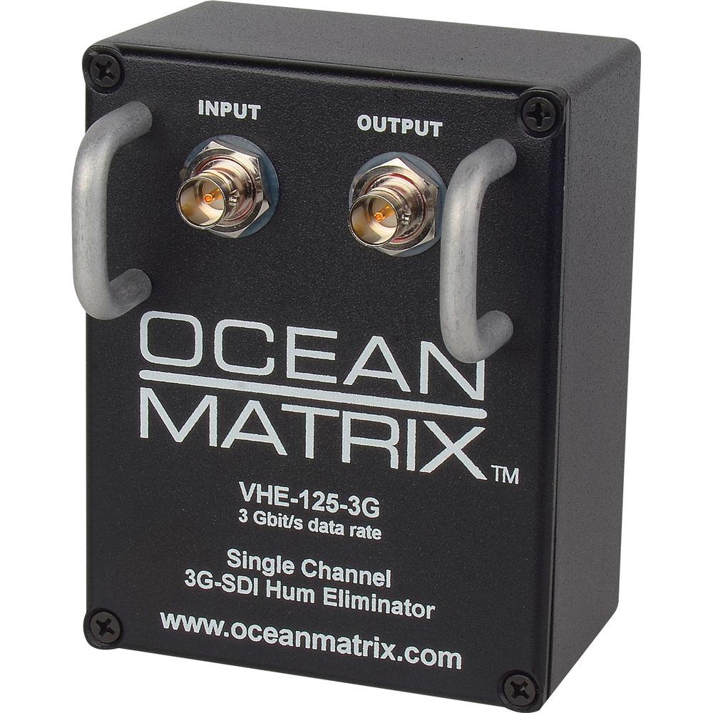 Ocean Matrix Bh Photo Video Rbvhda8 3g Hd Sdsdi 1 Input 8 Output Distribution Amplifier Sdi Hum Eliminator Channel