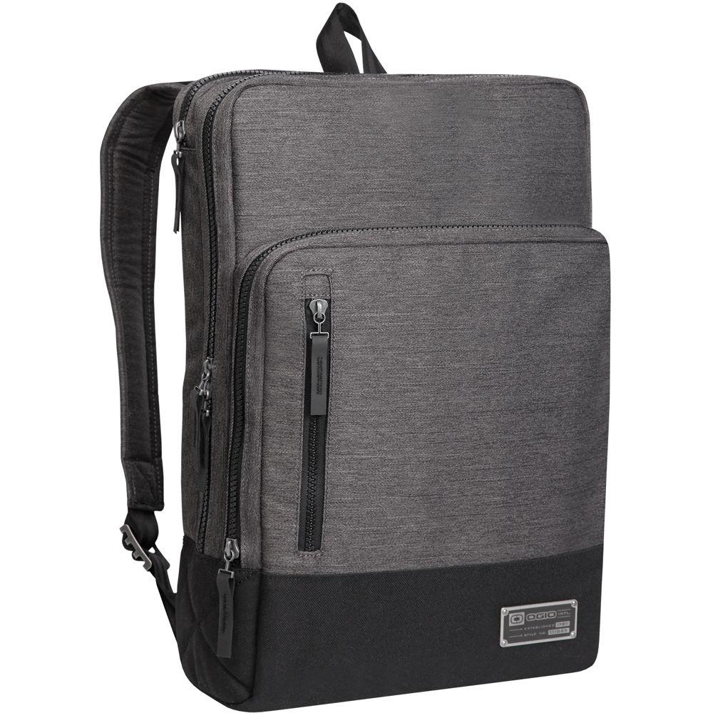 ogio covert pack for 15 laptop heather gray. Black Bedroom Furniture Sets. Home Design Ideas