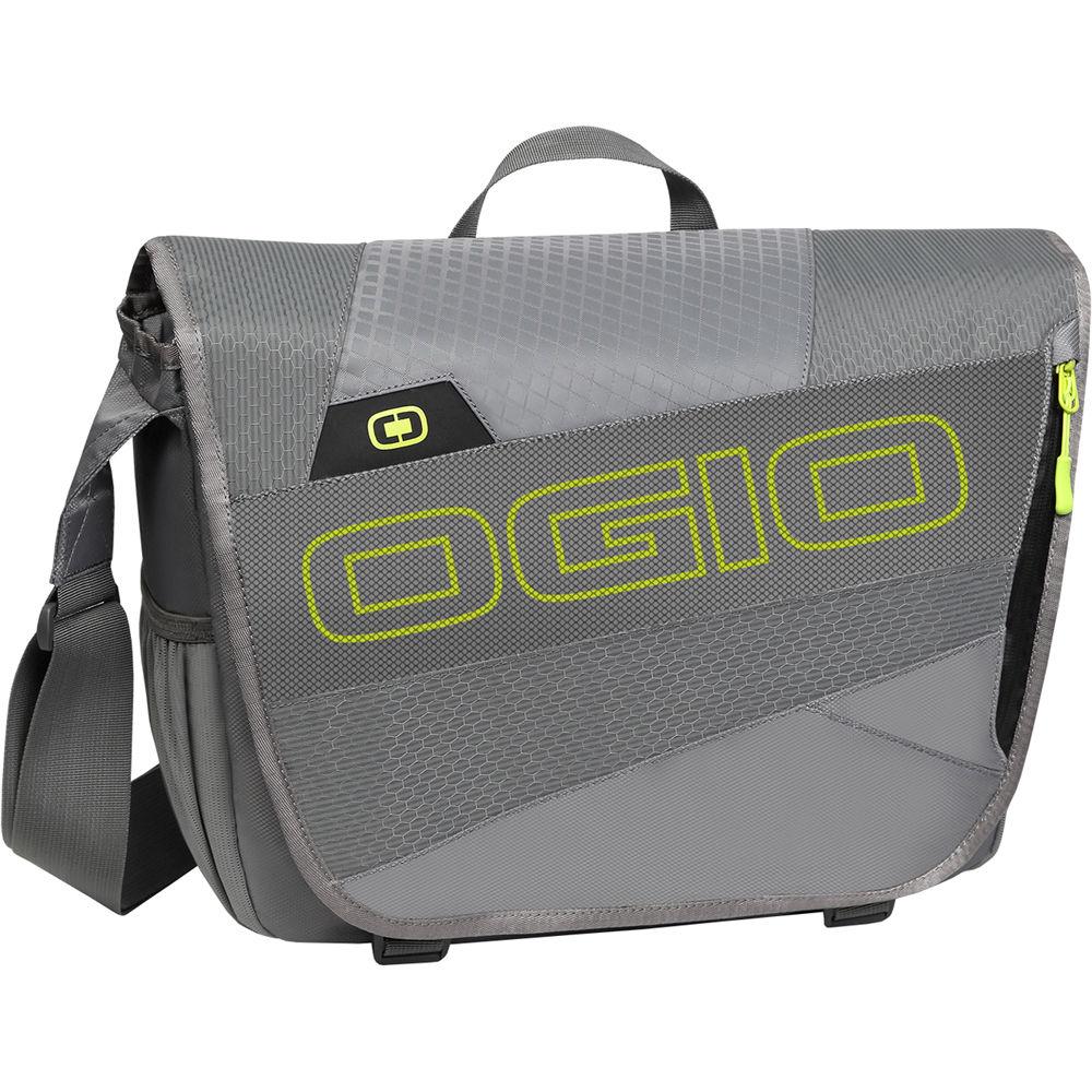 Ogio X Train Messenger Bag Dark Gray Acid
