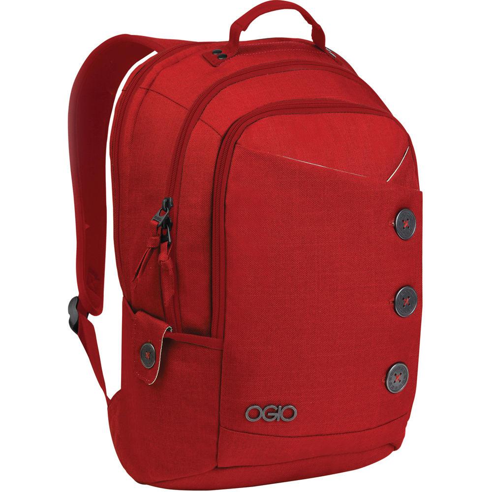 OGIO Soho Women39;s Laptop Backpack Red 114004.02 Bamp;H Photo
