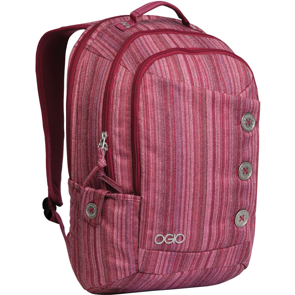 OGIO Soho Women39;s Laptop Backpack Raspberry 114004.616 Bamp;H