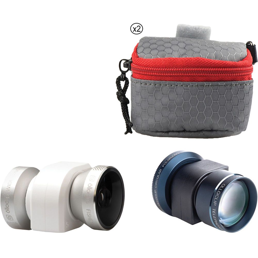 6a6e1c3e80828e olloclip 4-in-1 and Telephoto Two Lens Kit for iPhone 5/5s B&H