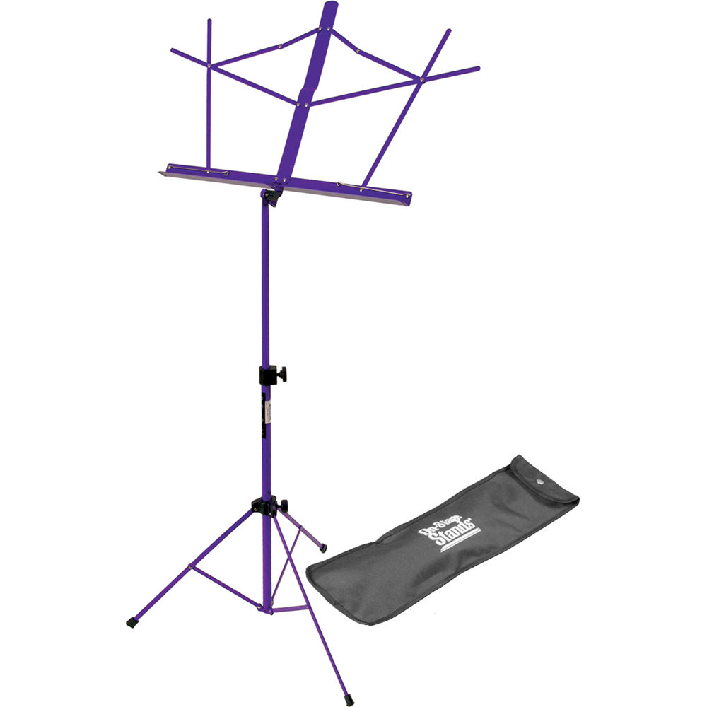 on stage sm7122pb compact sheet music stand sm7122pb b h photo. Black Bedroom Furniture Sets. Home Design Ideas