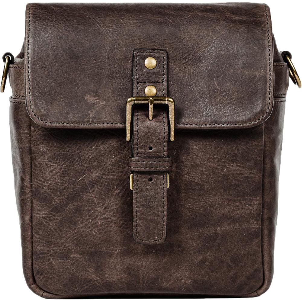Ona Bond Street Leather Camera Bag Dark Truffle