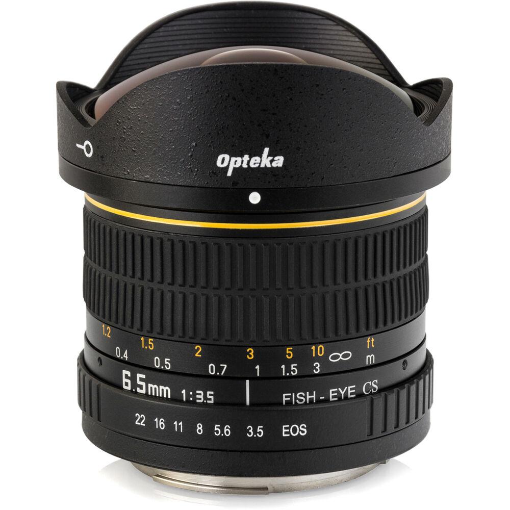 Opteka f 3 5 circular fisheye lens for canon ef for Fish eye camera