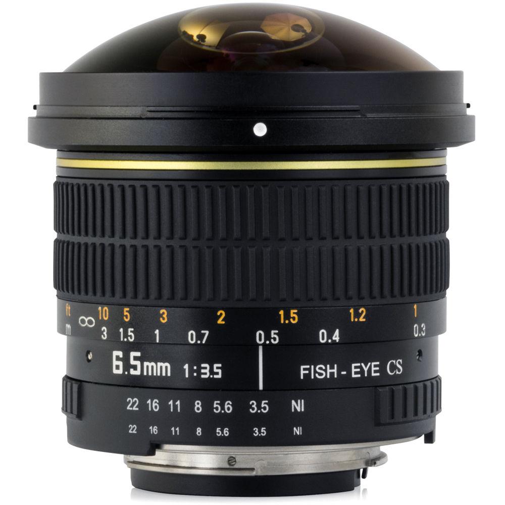 Opteka f 3 5 circular fisheye lens for nikon f for Fish eye camera