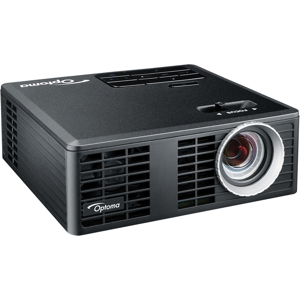 Optoma technology ml750 wxga led dlp 3d ready projector ml750 for Dlp micro projector