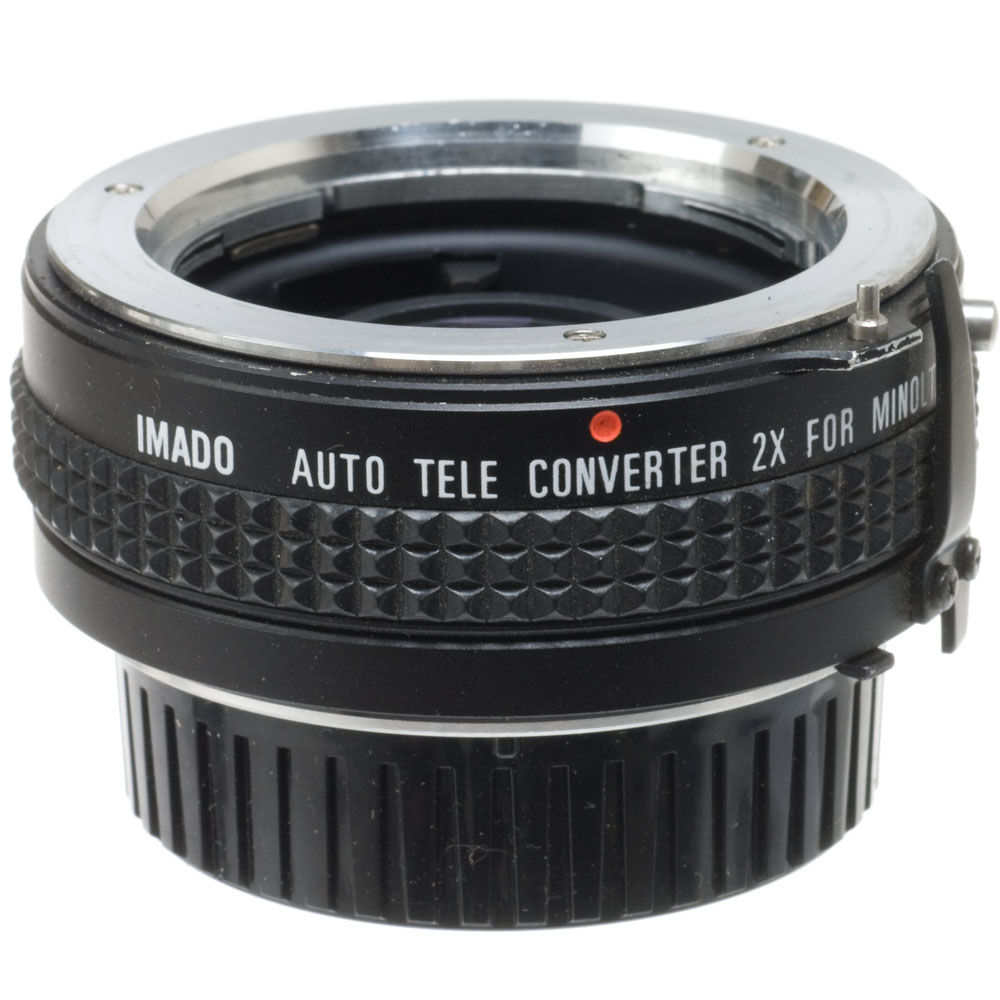 Used Other Brand 2x Manual Focus Teleconverter For Minolta Md # Model Table Tele