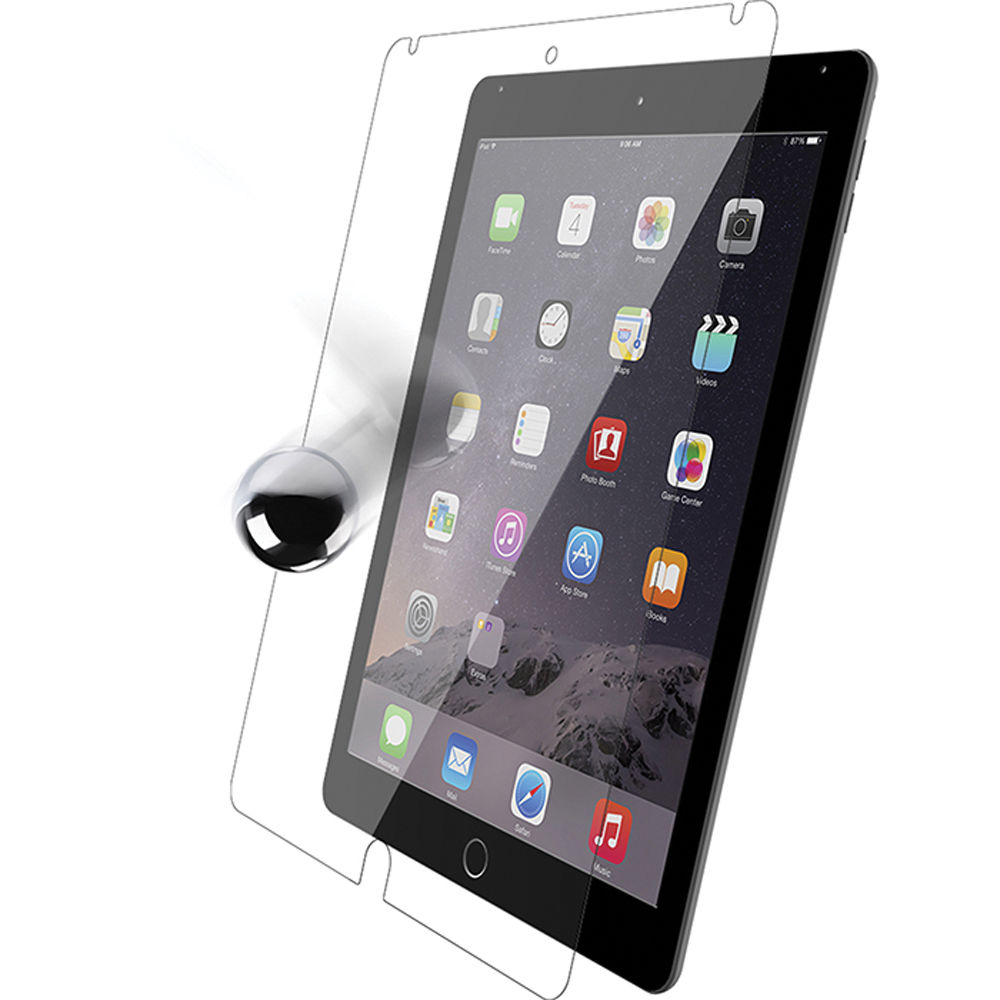 otter box alpha glass screen protector for ipad air 2 77 50963. Black Bedroom Furniture Sets. Home Design Ideas